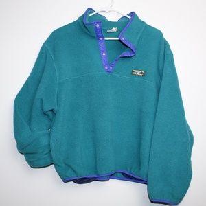 Vintage LL Bean Pullover Fleece like Sweatshirt